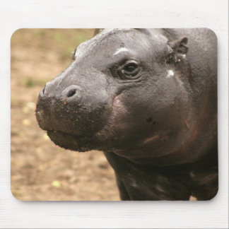 Pygmy Hippo Mouse Pad