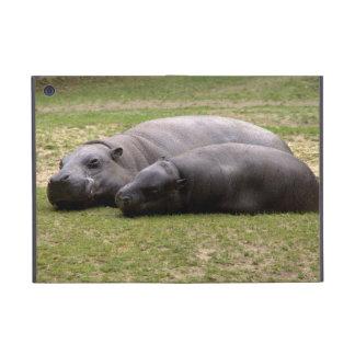 Pygmy hippos iPad mini cases