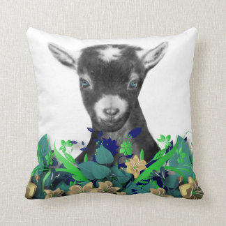 Pygora Goat Drawing Herd Name Goat Pillow