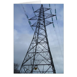 Pylon the Power Greeting Card