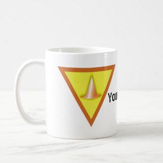 Pylons Basic White Mug