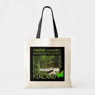 Pynnösen Lomamökit bag - choose style & color
