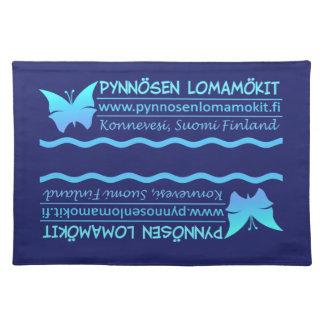 Pynnösen Lomamökit custom placemats