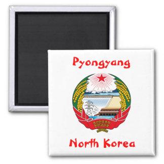 Pyongyang North Korea Magnet