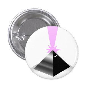 pyramid 3 cm round badge