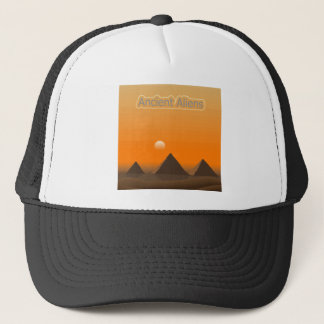 Pyramid Aliens Trucker Hat