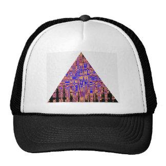 PYRAMID Blue Purple Trucker Hat