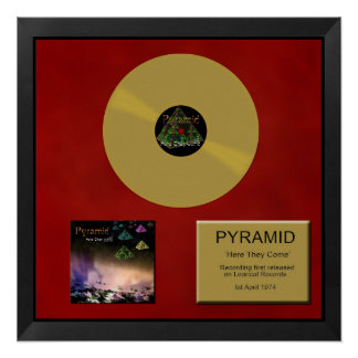 Pyramid - Gold disc - Here They Come