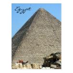 pyramid great egypt post card