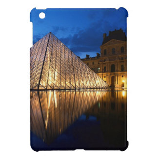 Pyramid in Louvre Museum,Paris,France Cover For The iPad Mini