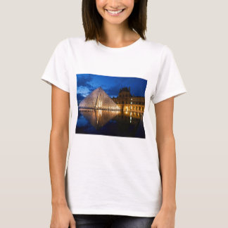 Pyramid in Louvre Museum,Paris,France T-Shirt