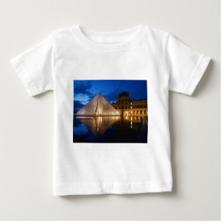 Pyramid in Louvre Museum,Paris,France Tshirts