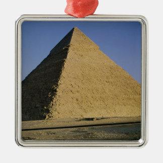 Pyramid of Khafre  c.2589-30 BC Silver-Colored Square Decoration