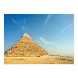 Pyramid of Khafre (Chephren), Giza, Egypt Card