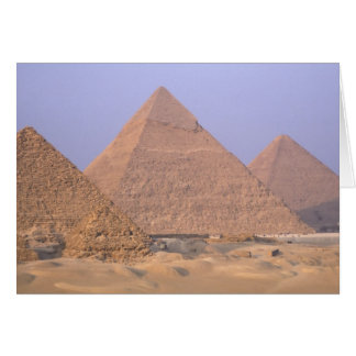 Pyramid of Menkaure Mycerinus), Pyramid of Greeting Card