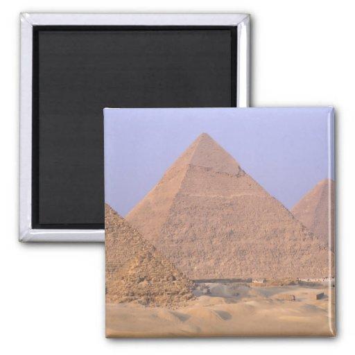 Pyramid of Menkaure Mycerinus), Pyramid of Refrigerator Magnet
