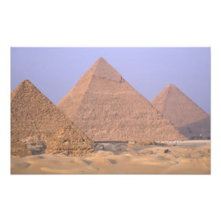 Pyramid of Menkaure Mycerinus), Pyramid of Photo Print