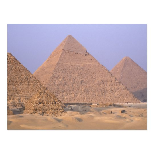 Pyramid of Menkaure Mycerinus), Pyramid of Postcard
