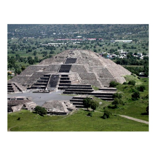 Pyramid of the Moon, Teotihuacan, Mexico Postcard