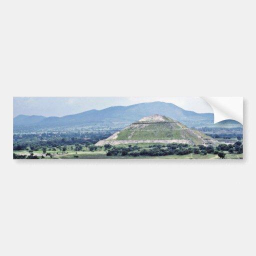 Pyramid Of The Sun, Teotihuacan Complex Bumper Sticker