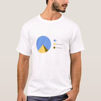 Pyramid Pie Chart T-Shirt