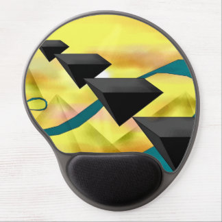 Pyramid Space Ergonomic Mousepad Gel Mouse Pad