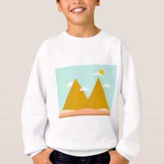 Pyramid Wilderness Cloud Sun Nature Sweatshirt