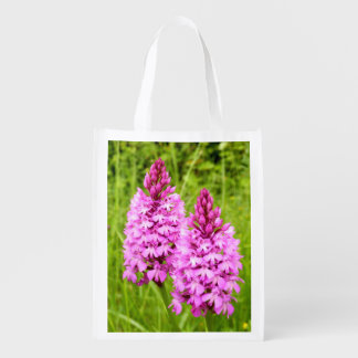 Pyramidal Orchid Reusable Bag