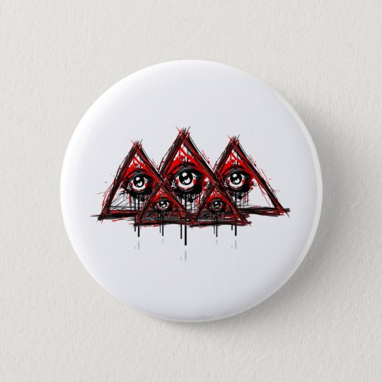 Pyramids 6 Cm Round Badge