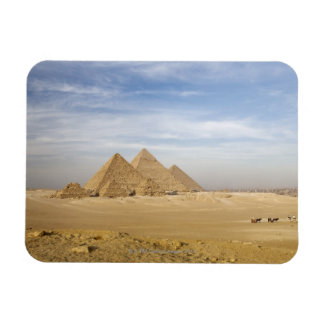 Pyramids Cairo, Egypt Magnet
