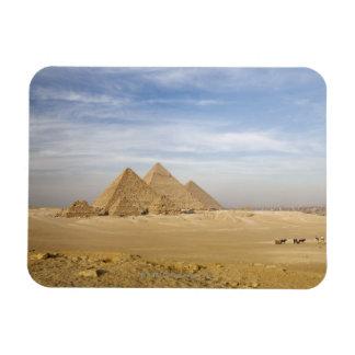 Pyramids Cairo, Egypt Rectangular Photo Magnet