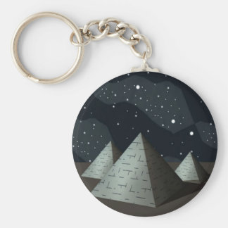 Pyramids-Egypt Key Ring