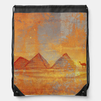 Pyramids Giza Drawstring Backpack