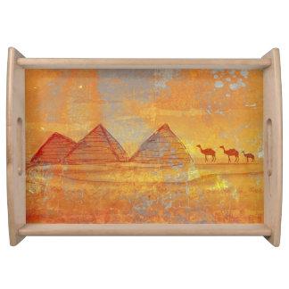 Pyramids Giza tray