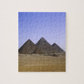 Pyramids in desert Cairo, Egypt Puzzles