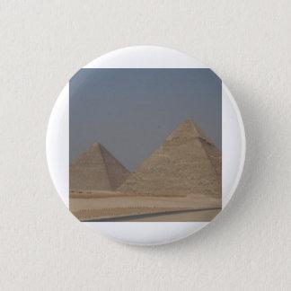 pyramids of Egypt 6 Cm Round Badge