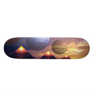 Pyramids of Enlightenment Skate Boards