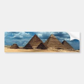 Pyramids of Gizeh Bumper Sticker