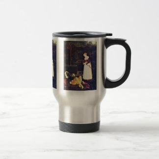 Pyramus And Thisbe By Baldung Hans Coffee Mugs