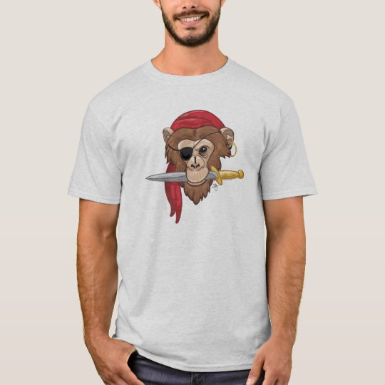 Pyrate Monkey T-Shirt