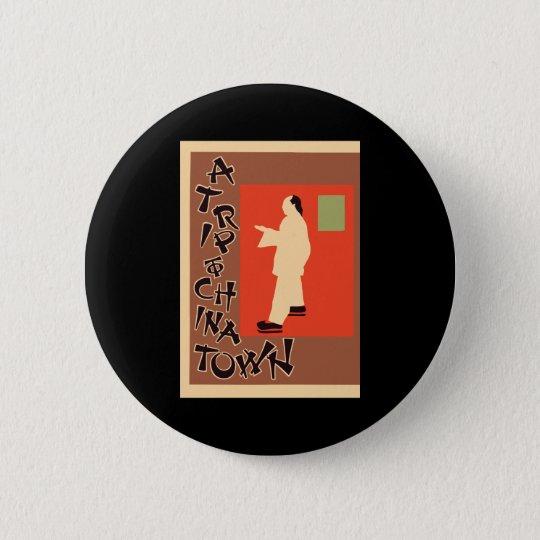 Pyrde & Nicholson A Trip To Chinatown 6 Cm Round Badge