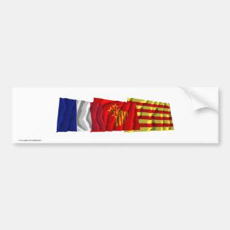 Pyrénées-Orientales, Languedoc-Roussillon & France Bumper Sticker