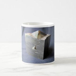 Pyrite Crystal Coffee Mug