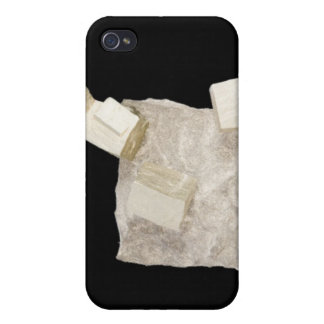 Pyrite Crystals in Shale Covers For iPhone 4