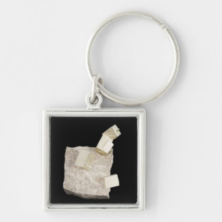 Pyrite Crystals in Shale Key Ring