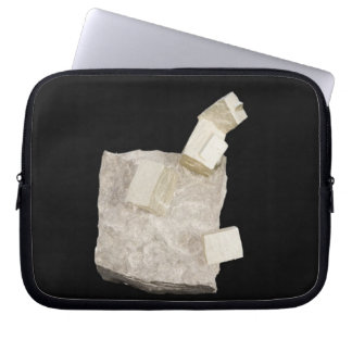 Pyrite Crystals in Shale Laptop Sleeve
