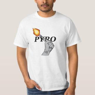 Pyro TShirt black signature