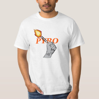 Pyro TShirt orange