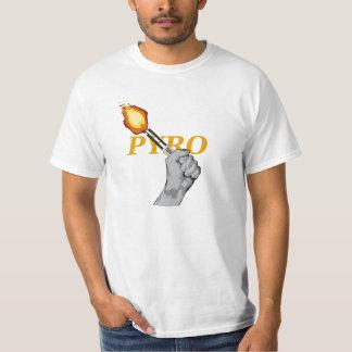 Pyro TShirt yellow