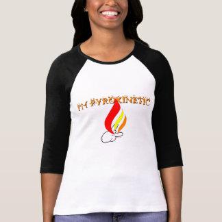 Pyrokinetic Pyrokinesis Firestarter T-Shirt Women